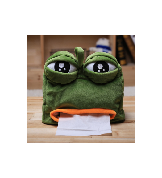 Pepe the Frog Tissue Box