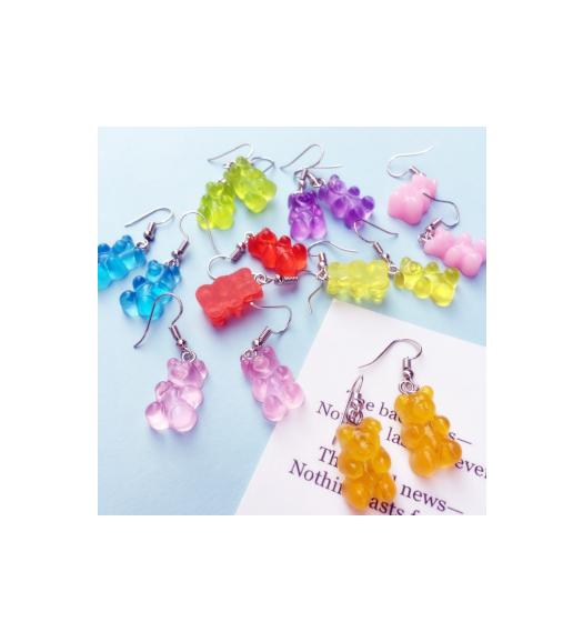 Gummy Bear Shaped Earrings