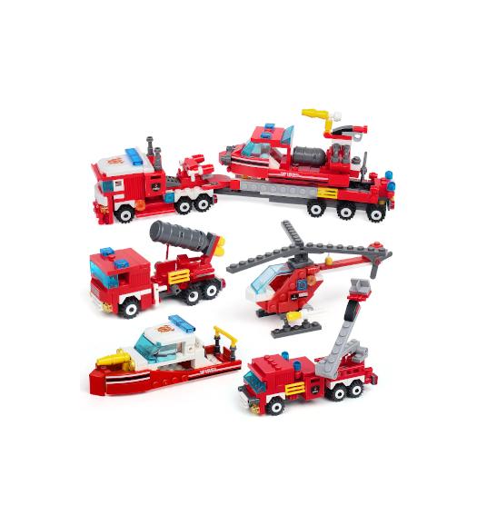 Children's 4in1 Building Blocks