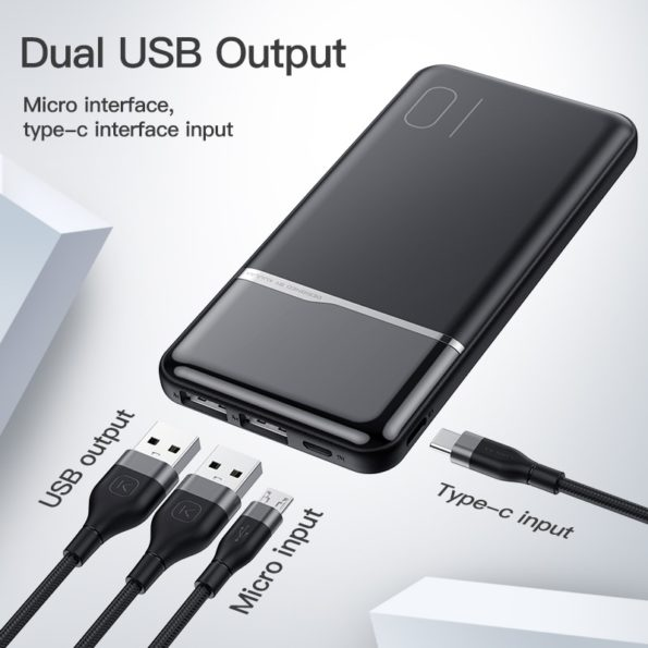 KUULAA Power Bank 10000mAh 3