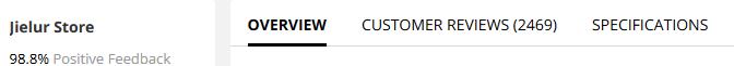 AliExpress Product Description