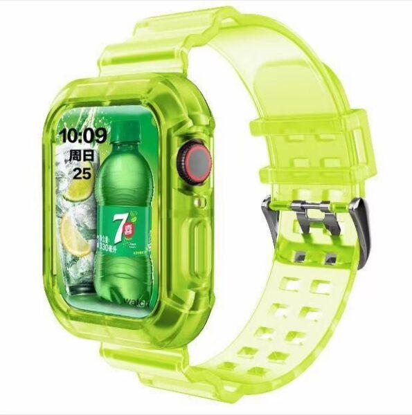 Transparent Apple Watch Band 7