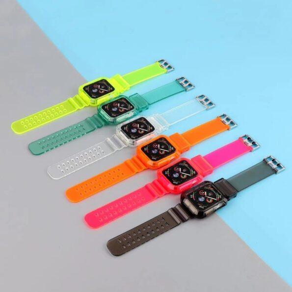Transparent Apple Watch Band 1