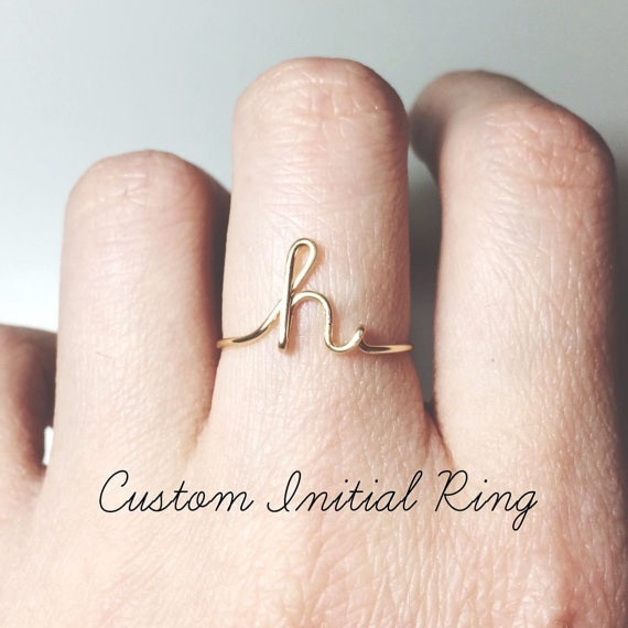 Initial Letter Ring 1