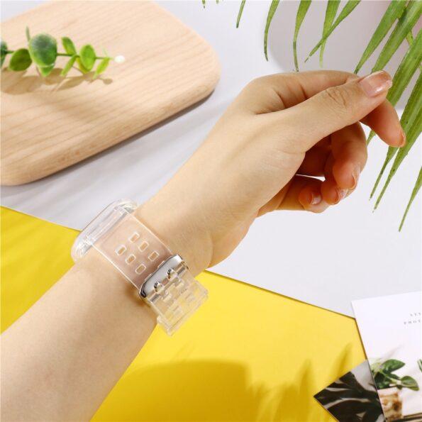 Transparent Apple Watch Band 3