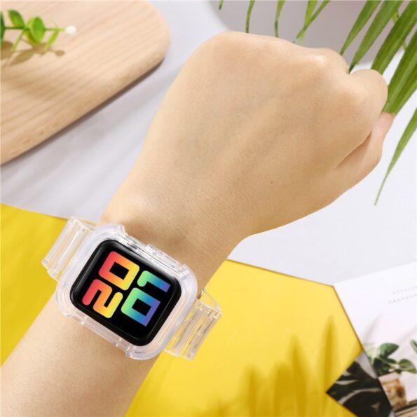 Transparent Apple Watch Band 2