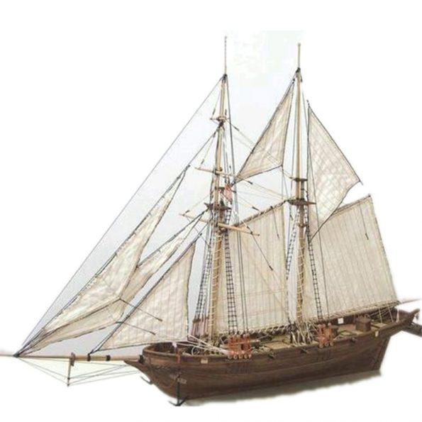 DIY Sailboat Model Kit 1