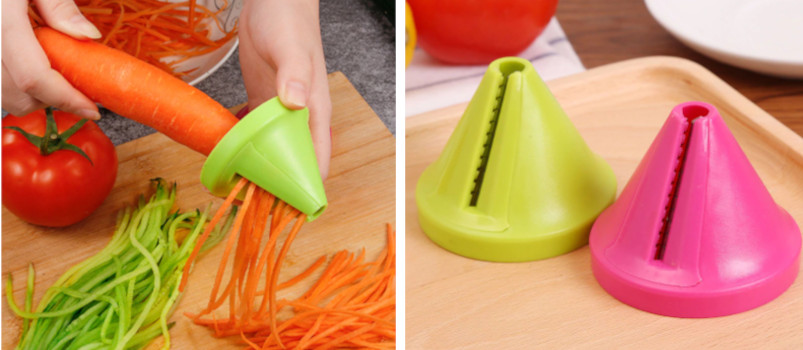 Kitchen Tools Vegetable Fruit Multi-function Spiral Shredder